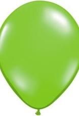 "11"" Jewel Lime Qualatex Latex   Balloon 1 Dozen Flat"