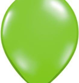 "11"" Jewel Lime Qualatex Balloon 1 Dozen Flat"