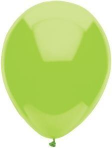 """11"""" Kiwi Lime Partymate Balloons (100)"""