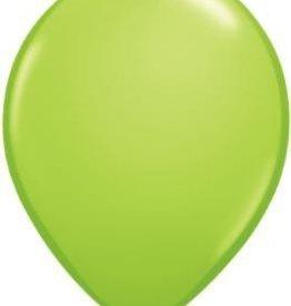 "11"" Lime Green Qualatex Balloon 1 Dozen Flat"