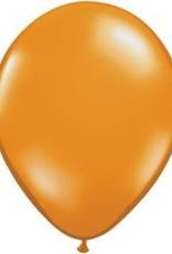 """11"""" Mandarin Orange Qualatex Balloon 1 Dozen Flat"""