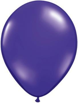 "11"" Quartz Purple Qualatex Latex Balloon 1 Dozen Flat"