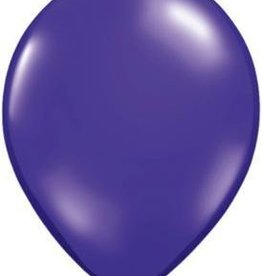 "11"" Quartz Purple Qualatex Balloon 1 Dozen Flat"