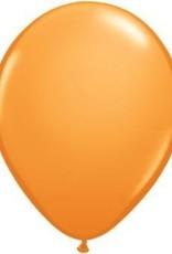 """11"""" Orange Qualatex Balloon 1 Dozen Flat"""