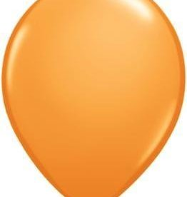 "11"" Orange Qualatex Latex  Balloon 1 Dozen Flat"