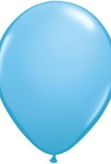 "11"" Pale Blue Qualatex Balloon 1 Dozen Flat"