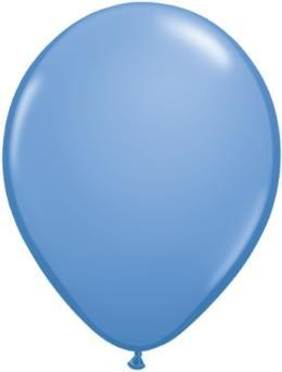 "11"" Periwinkle Qualatex Latex Balloon 1 Dozen Flat"
