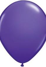 "11"" Purple Violet Qualatex Balloon 1 Dozen Flat"