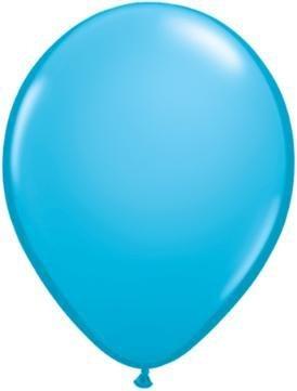 """11"""" Robin's Egg Blue Qualatex Balloon 1 Dozen Flat"""