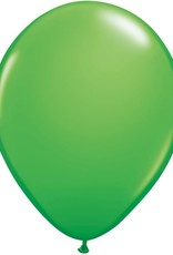 "11"" Spring Green Qualatex Balloon 1 Dozen Flat"
