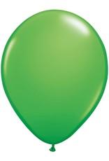 "11"" Spring Green Qualatex Latex Balloon 1 Dozen Flat"