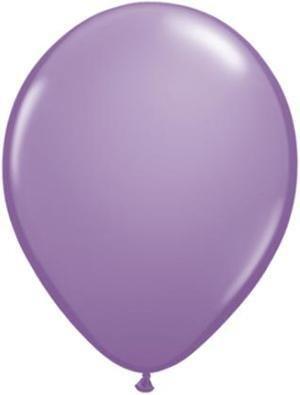 "11"" Spring Lilac Qualatex Latex Balloon 1 Dozen Flat"