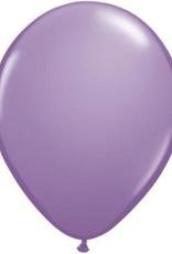 "11"" Spring Lilac Qualatex Balloon 1 Dozen Flat"