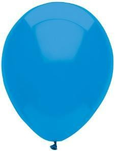 "11"" Bright Blue Partymate Balloons (15)"