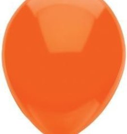 "11"" Bright Orange Partymate Balloons (15)"