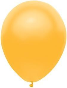 """11"""" Radiant Gold Partymate Balloons (15)"""