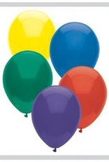 "11"" Royal Rich Assortment Partymate Balloons (100)"