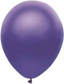 "11"" Satin Purple Partymate Balloons (100)"