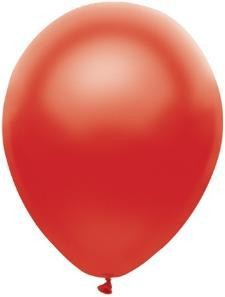 "11"" Satin Red Partymate Balloons (100)"