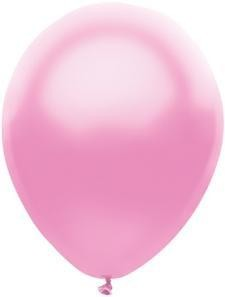 """11"""" Silk Pink Partymate Balloons (100)"""