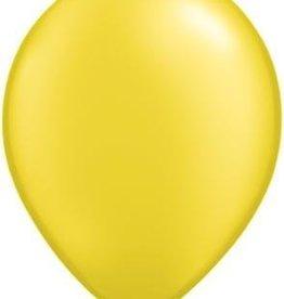 "11"" Pearl Citrine Yellow Qualatex Balloon 1 Dozen Flat"