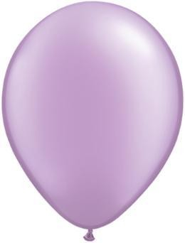 "11"" Pearl Lavender Qualatex Latex Balloon 1 Dozen Flat"