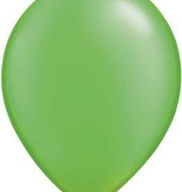 "11"" Pearl Lime Green Qualatex Balloon 1 Dozen Flat"