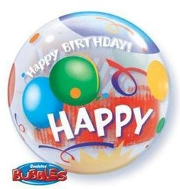"Bubble 22"" Birthday Celebration Balloon"
