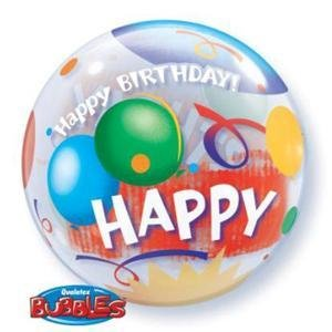 "Birthday Celebration 22"" Bubble Balloon"