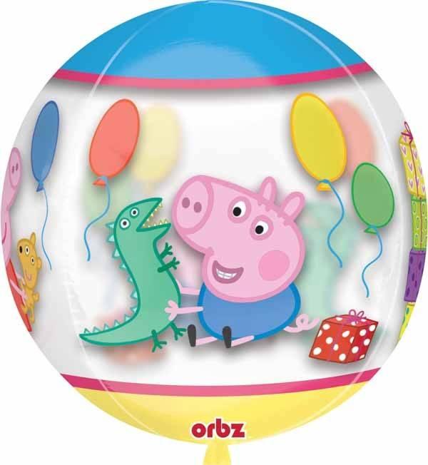 "Peppa Pig 22"" Bubble Balloon"