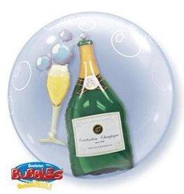 Bubble Champagne Balloon
