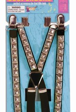 80's Studded Suspenders