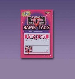 Bachelorette Name Tags