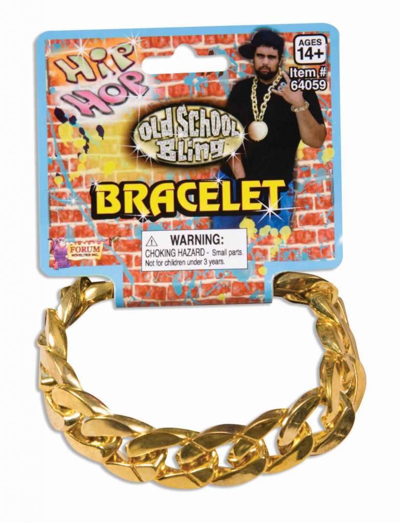 Big Links Bracelet Gold