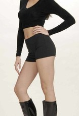 Black Hot Shorts Medium(8-10)