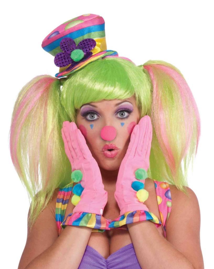 Circus Sweetie Ruffle Gloves