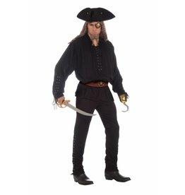 Buccaneer Shirt Black