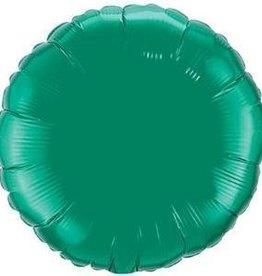 "Mylar Emerald Green Round 18"" Balloon"