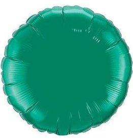 "Emerald Green Round 18"" Mylar Balloon"