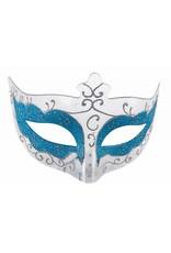 Blue Glitter Eyemask