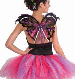 Black/Purple Fairy Wings