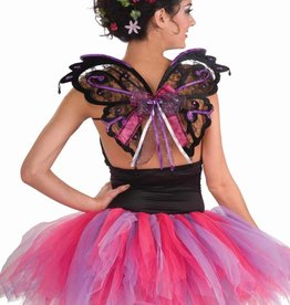 Fairy Wings Black/Purple