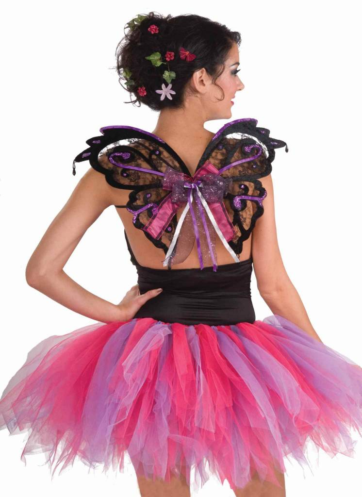Fairy Wings Black/Purple