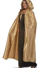 Fancy Gold Masquerade Cape