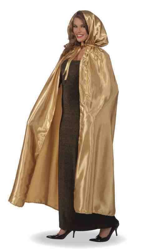 Fancy Gold Masquerade Cape