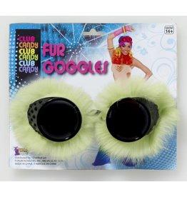 Green Fur Goggles