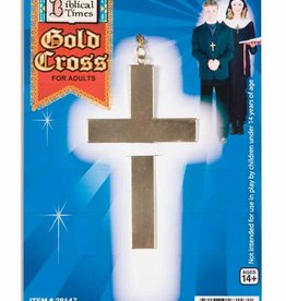 Gold Cross Metal