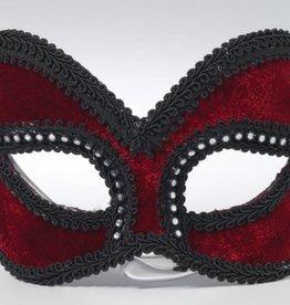Venetian Mask Red Velvet