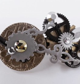 Steampunk Barrette
