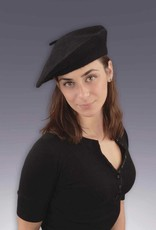 French Beret  Black